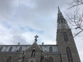 I did actually get out of the Westin - a shot of the Notre Dame Cathedral in Ottawa.